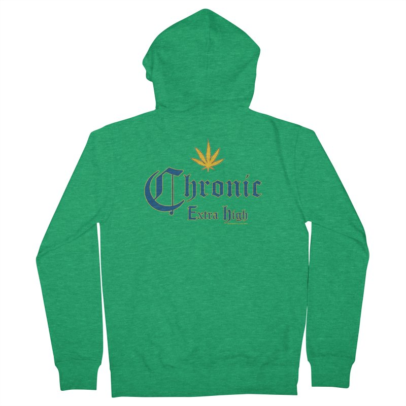 Chronic Extra High Men's Zip-Up Hoody by doombxny's Artist Shop