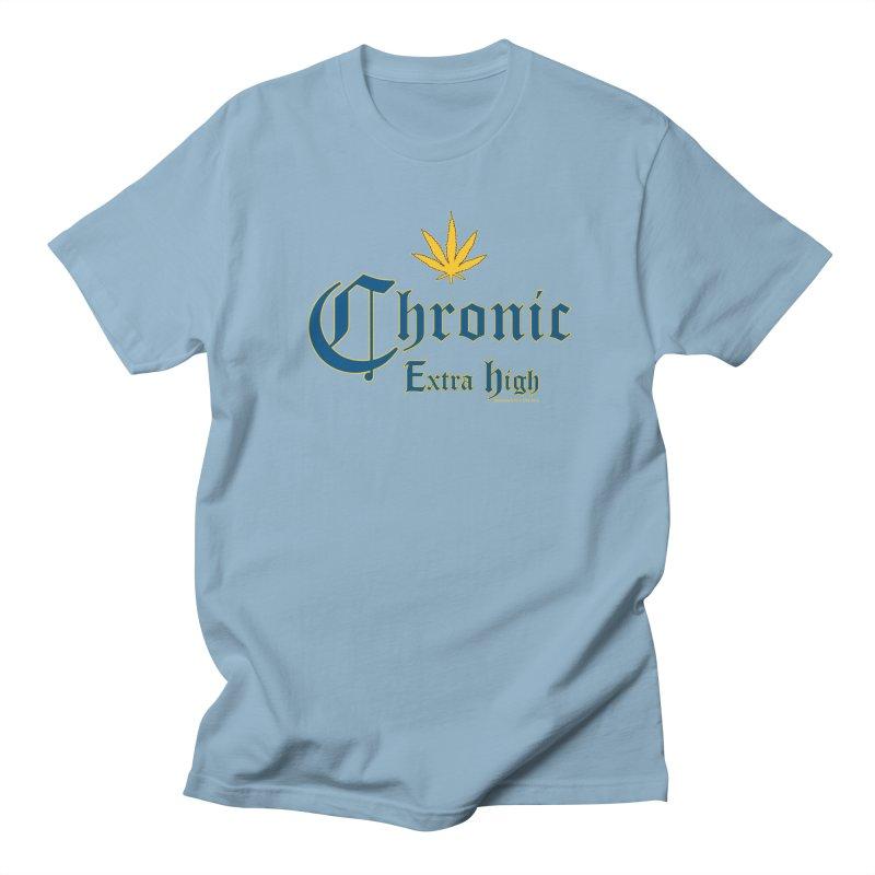Chronic Extra High Men's T-Shirt by doombxny's Artist Shop