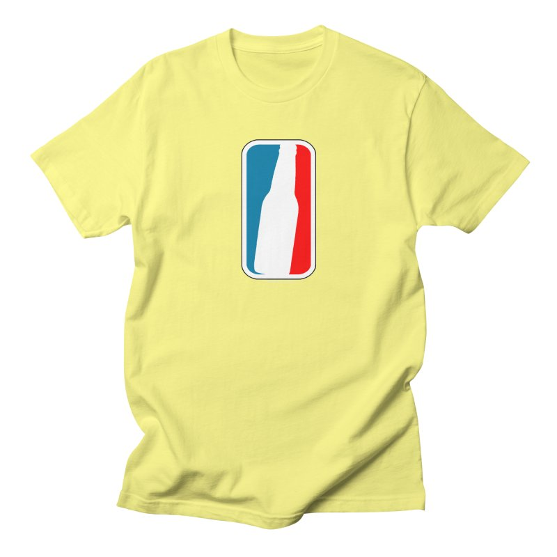 Beer Bottle Logo Men's T-Shirt by doombxny's Artist Shop