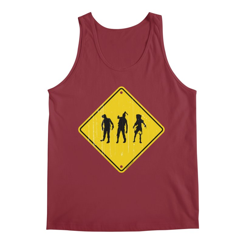 Zombie X-ing Men's Tank by doombxny's Artist Shop
