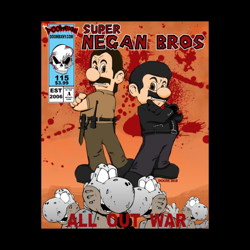 Super Negan Bros: All Out War Women's V-Neck by doombxny's Artist Shop
