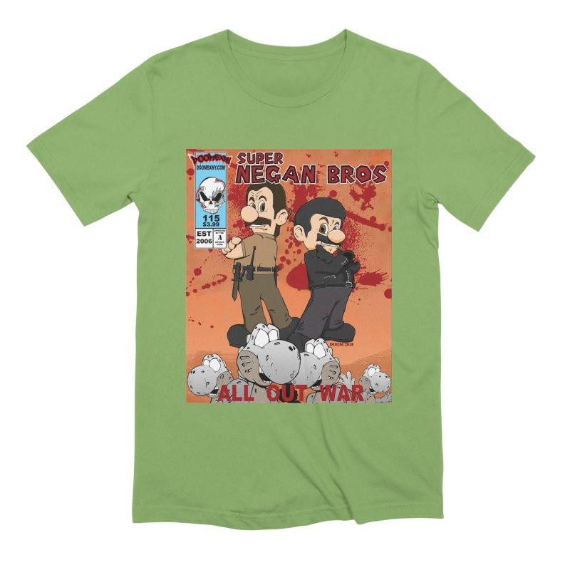 Super Negan Bros: All Out War Men's T-Shirt by doombxny's Artist Shop