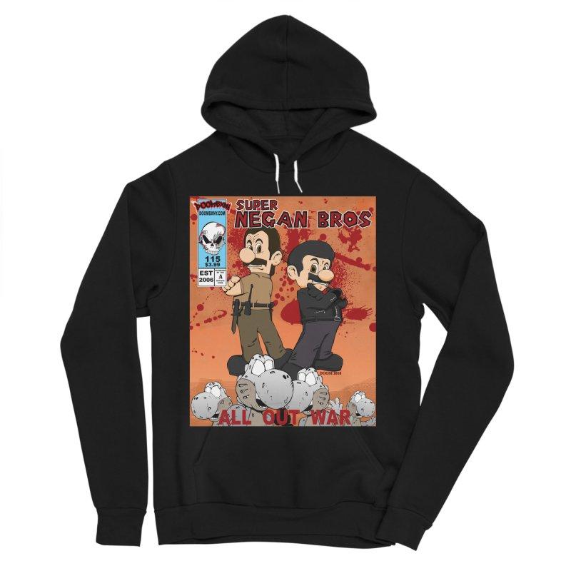 Super Negan Bros: All Out War Women's Sponge Fleece Pullover Hoody by doombxny's Artist Shop