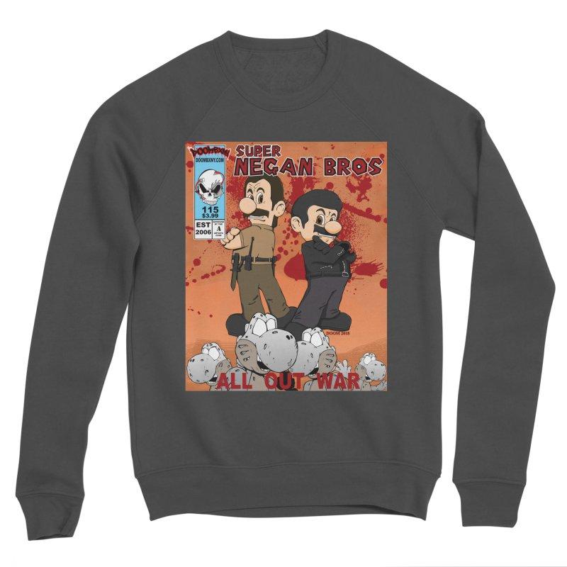 Super Negan Bros: All Out War Men's Sponge Fleece Sweatshirt by doombxny's Artist Shop