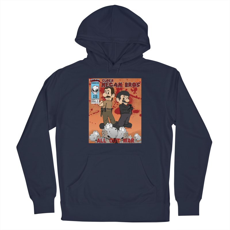 Super Negan Bros: All Out War Men's Pullover Hoody by doombxny's Artist Shop