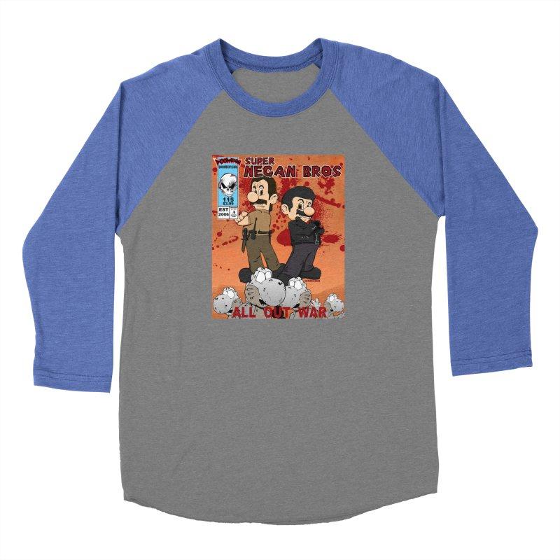 Super Negan Bros: All Out War Women's Longsleeve T-Shirt by doombxny's Artist Shop