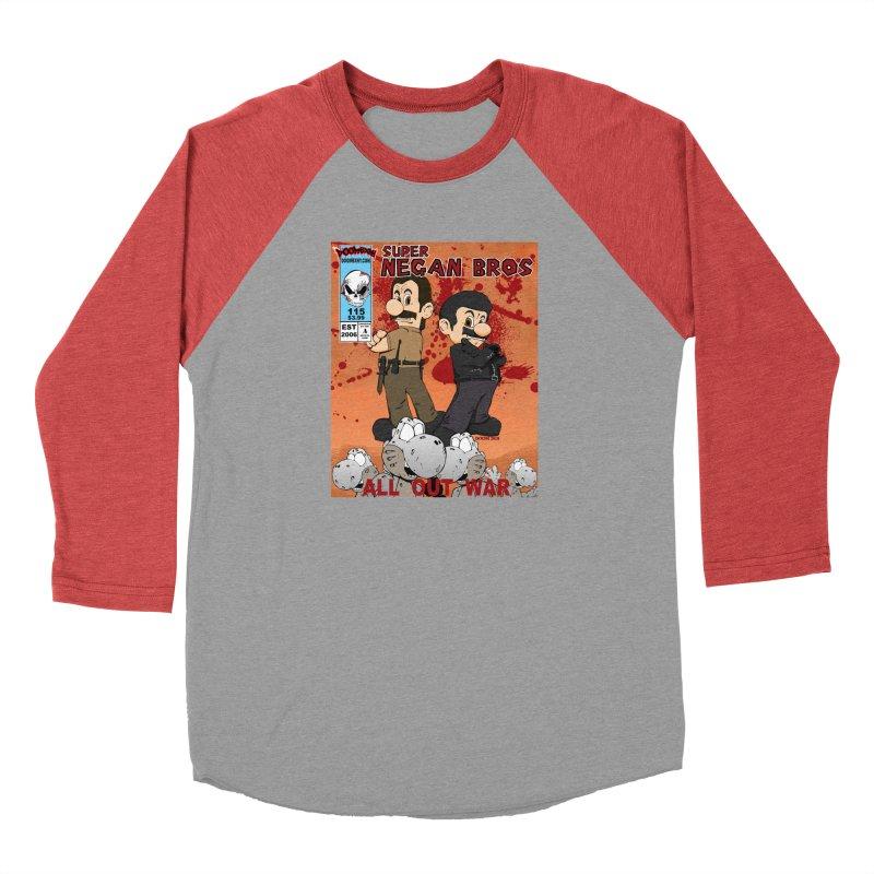 Super Negan Bros: All Out War Men's Longsleeve T-Shirt by doombxny's Artist Shop