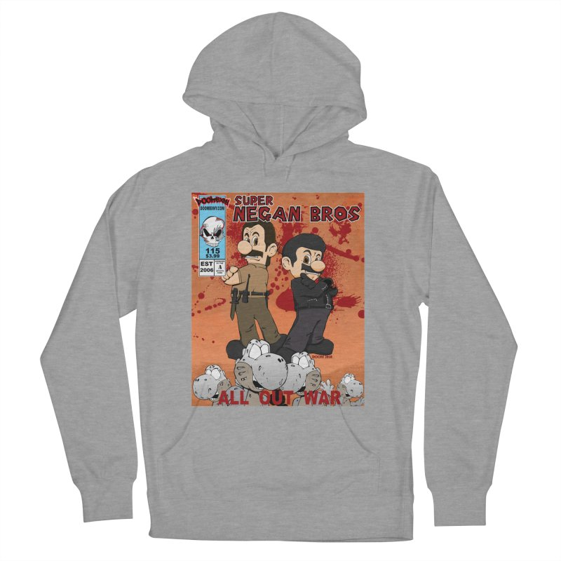 Super Negan Bros: All Out War Women's French Terry Pullover Hoody by doombxny's Artist Shop