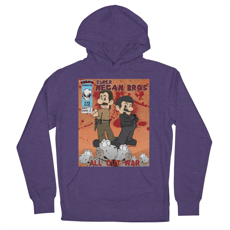 Super Negan Bros: All Out War Men's French Terry Pullover Hoody by doombxny's Artist Shop