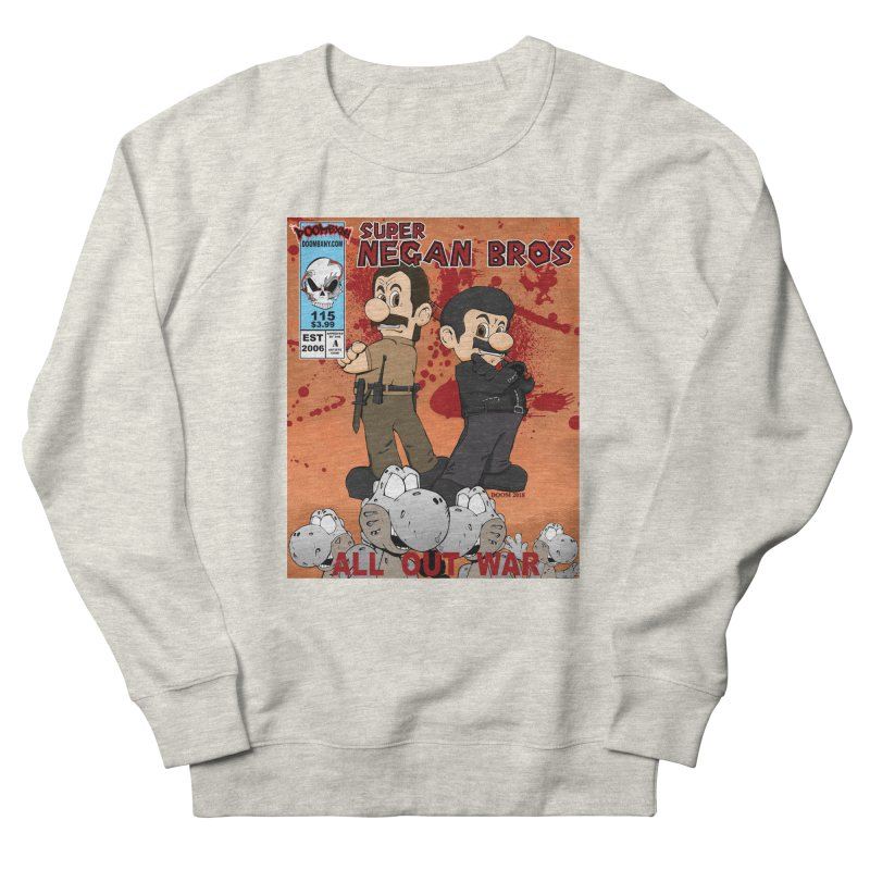 Super Negan Bros: All Out War Women's French Terry Sweatshirt by doombxny's Artist Shop