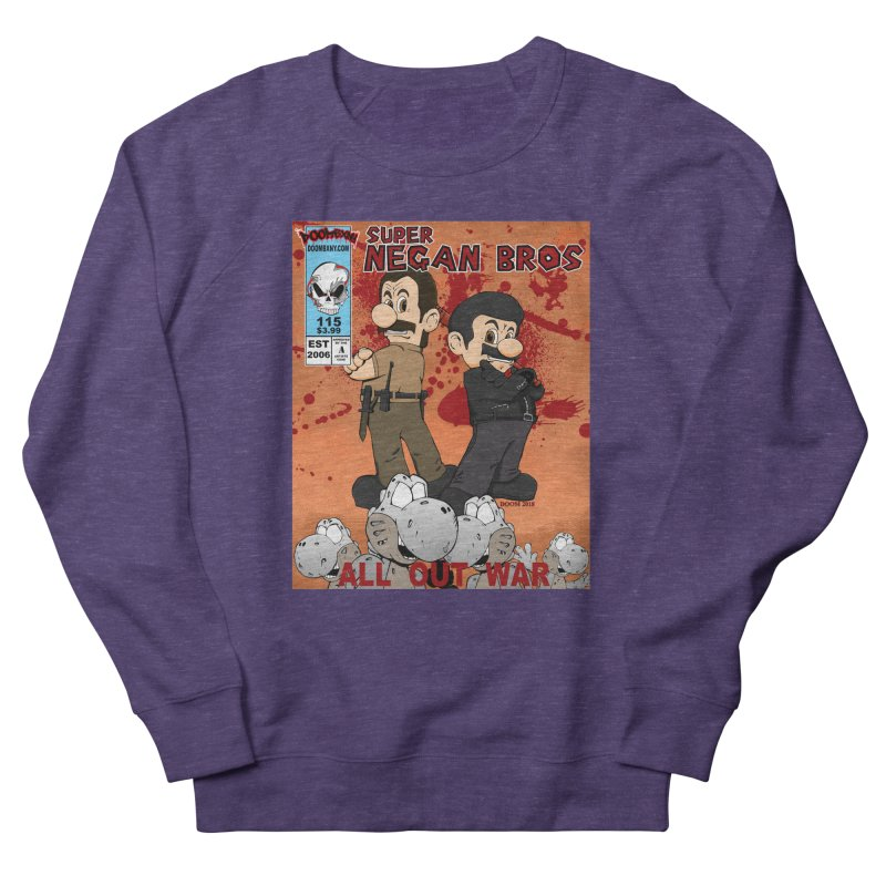 Super Negan Bros: All Out War Men's French Terry Sweatshirt by doombxny's Artist Shop