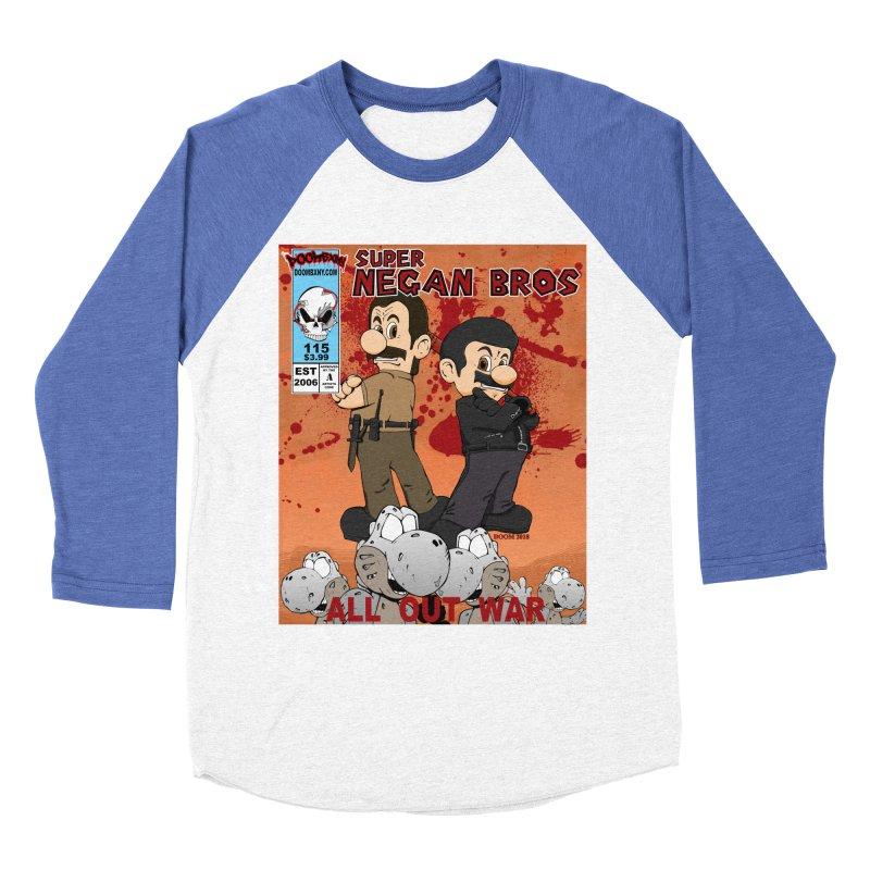 Super Negan Bros: All Out War Men's Baseball Triblend Longsleeve T-Shirt by doombxny's Artist Shop