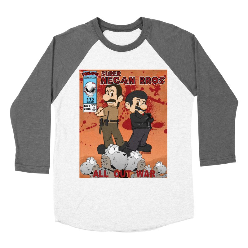 Super Negan Bros: All Out War Men's Baseball Triblend Longsleeve T-Shirt by doombxny's Artist Shop