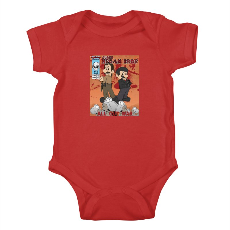 Super Negan Bros: All Out War Kids Baby Bodysuit by doombxny's Artist Shop