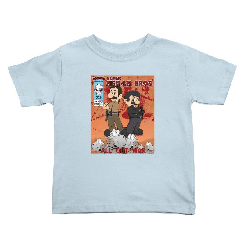 Super Negan Bros: All Out War Kids Toddler T-Shirt by doombxny's Artist Shop