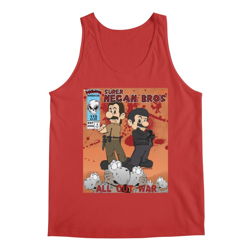 Super Negan Bros: All Out War Men's Tank by doombxny's Artist Shop