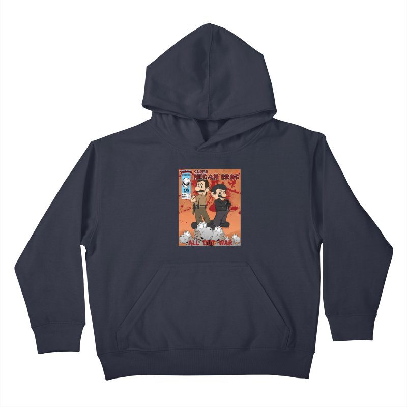Super Negan Bros: All Out War Kids Pullover Hoody by doombxny's Artist Shop