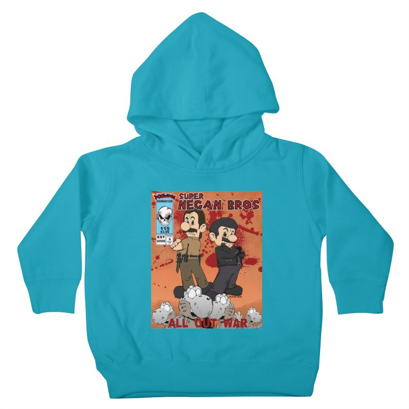 Super Negan Bros: All Out War Kids Toddler Pullover Hoody by doombxny's Artist Shop