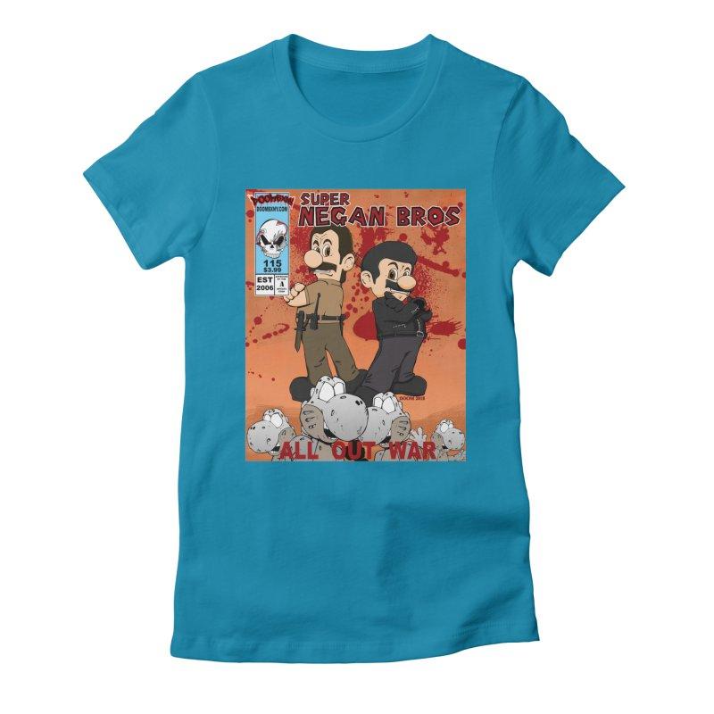 Super Negan Bros: All Out War Women's T-Shirt by doombxny's Artist Shop