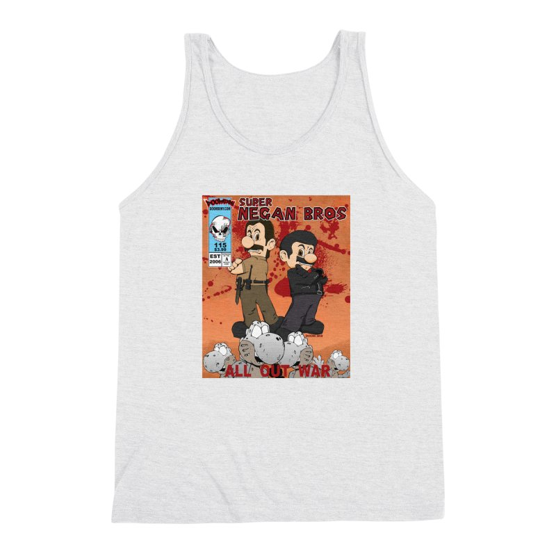 Super Negan Bros: All Out War Men's Triblend Tank by doombxny's Artist Shop