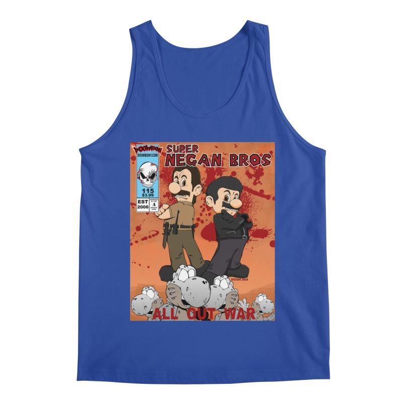 Super Negan Bros: All Out War Men's Regular Tank by doombxny's Artist Shop