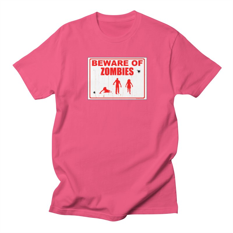 Beware of zombies Men's T-Shirt by doombxny's Artist Shop