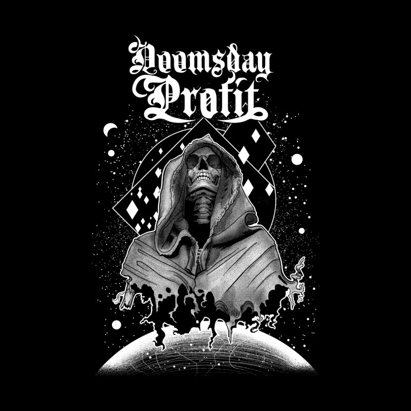 Space Reaper (Chatterskull) Women's Longsleeve T-Shirt by Doomsday Profit Merch