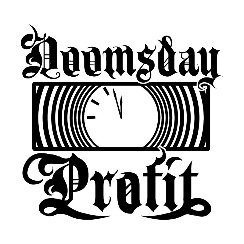 Doomsday Profit Logo Men's T-Shirt by Doomsday Profit Merch
