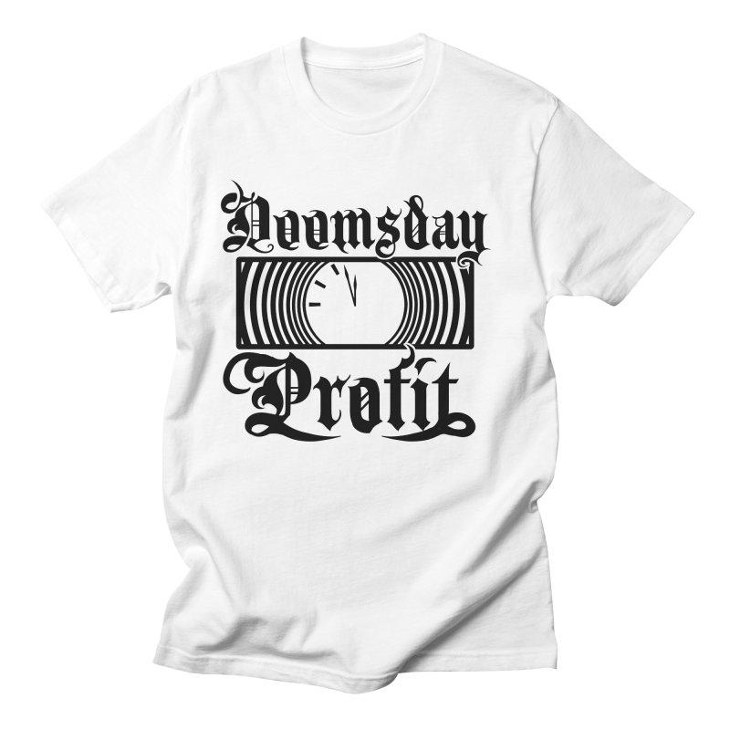 Doomsday Profit Logo Men's T-Shirt by Doomsday Profit Merch