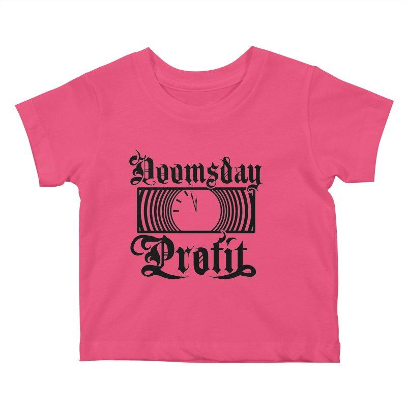 Doomsday Profit Logo Kids Baby T-Shirt by Doomsday Profit Merch