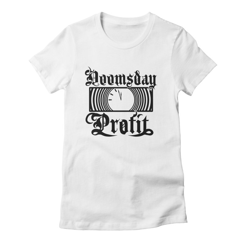 Doomsday Profit Logo Women's T-Shirt by Doomsday Profit Merch