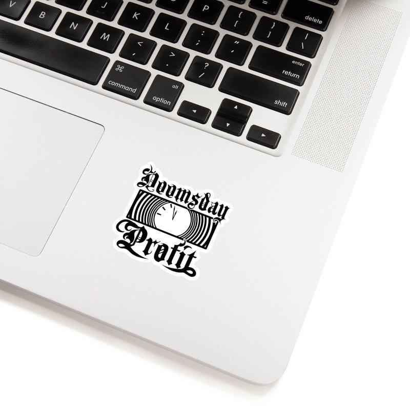 Doomsday Profit Logo Accessories Sticker by Doomsday Profit Merch