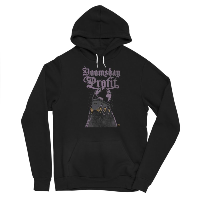 End of Days (David Paul Seymour) Men's Pullover Hoody by Doomsday Profit Merch
