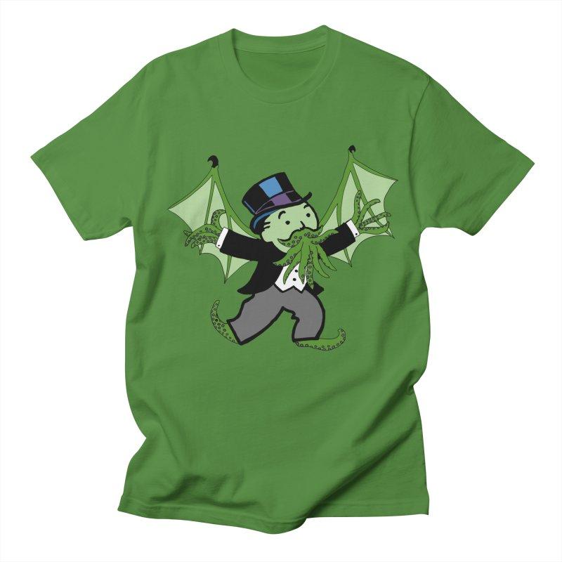 Eldritch Uncle Pennybags Men's T-Shirt by Doomsday Profit Merch