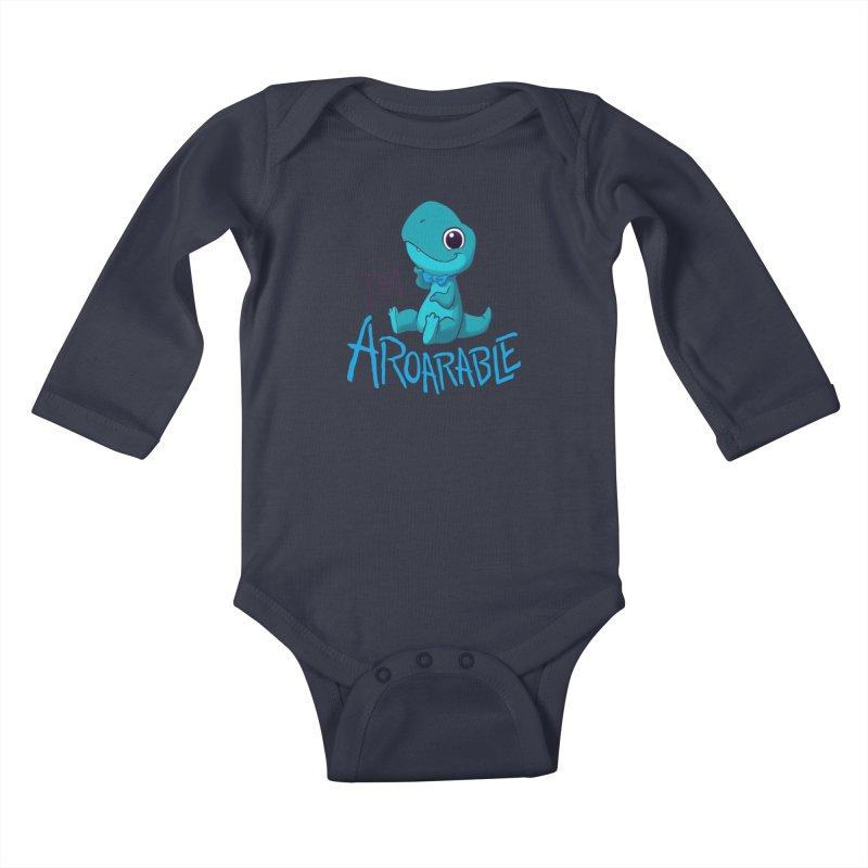 Aroarable Kids Baby Longsleeve Bodysuit by Dooomcat