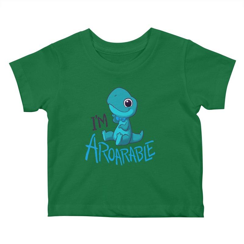 Aroarable Kids Baby T-Shirt by Dooomcat