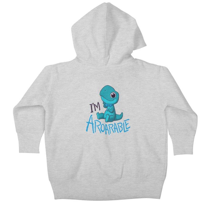 Aroarable Kids Baby Zip-Up Hoody by Dooomcat