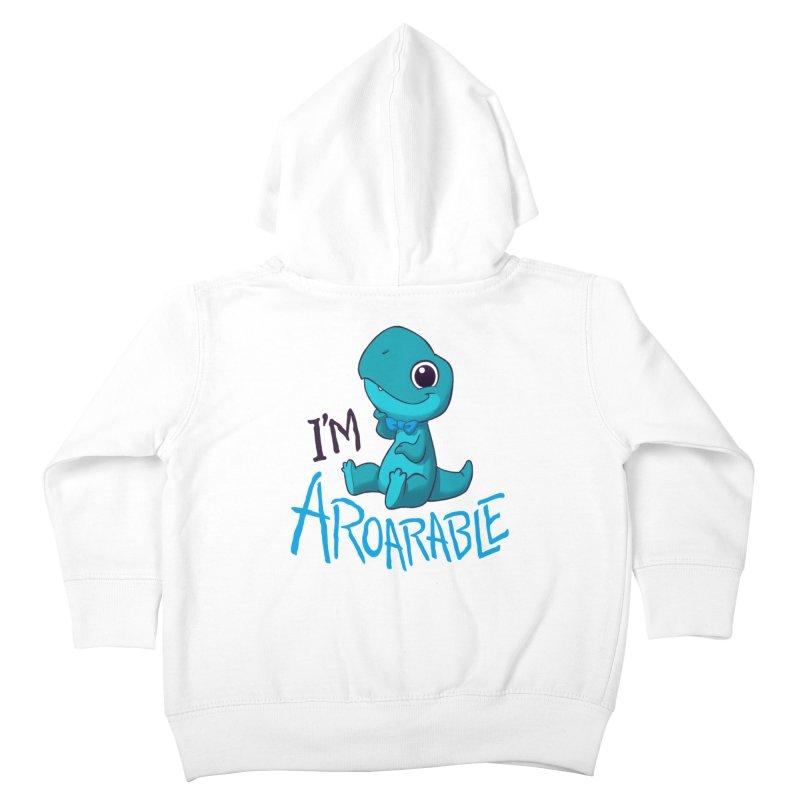 Aroarable Kids Toddler Zip-Up Hoody by Dooomcat