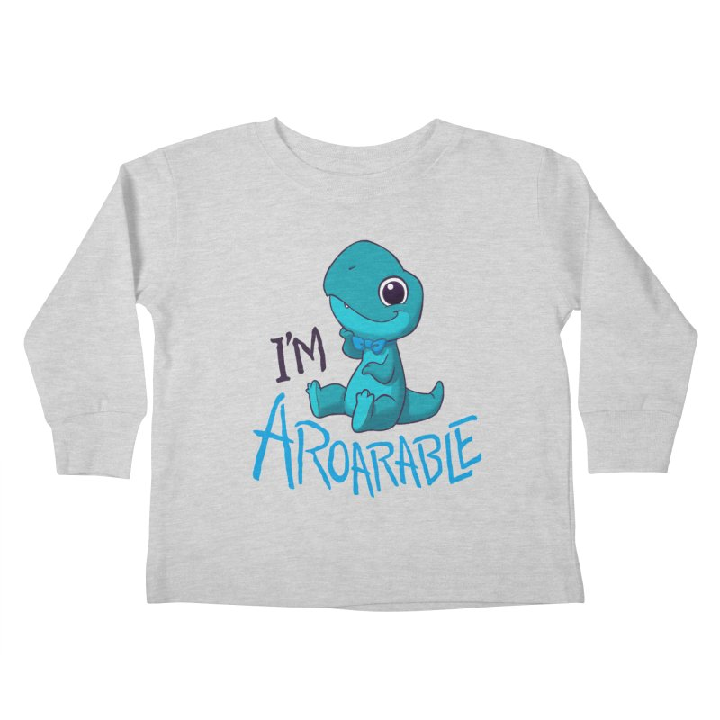 Aroarable Kids Toddler Longsleeve T-Shirt by Dooomcat