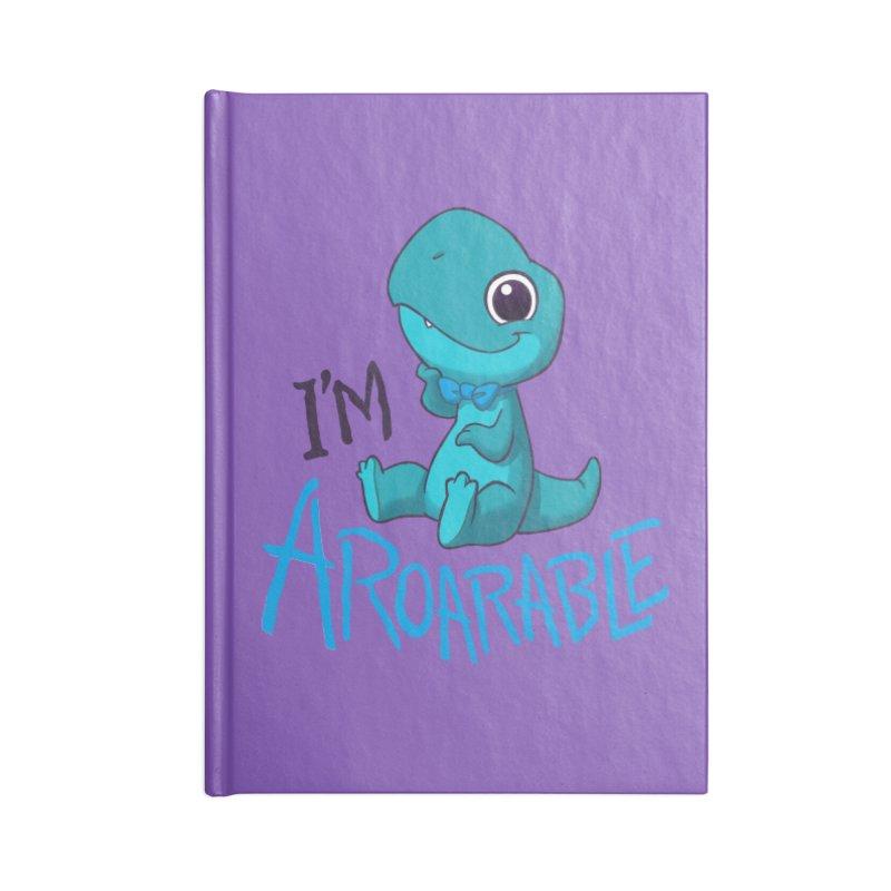 Aroarable Accessories Blank Journal Notebook by Dooomcat