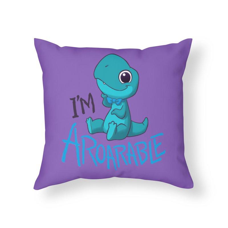 Aroarable Home Throw Pillow by Dooomcat