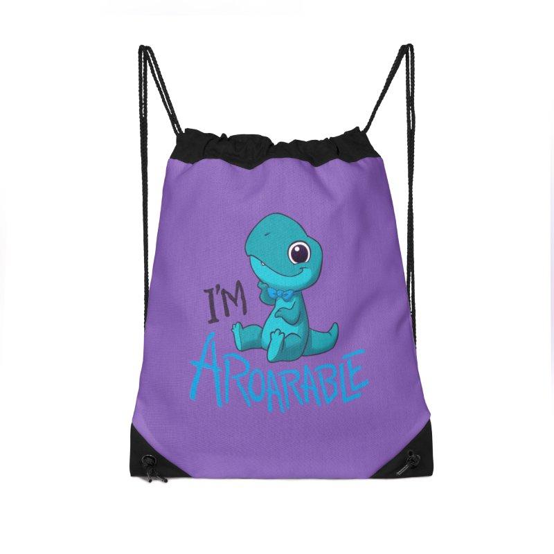 Aroarable Accessories Drawstring Bag Bag by Dooomcat