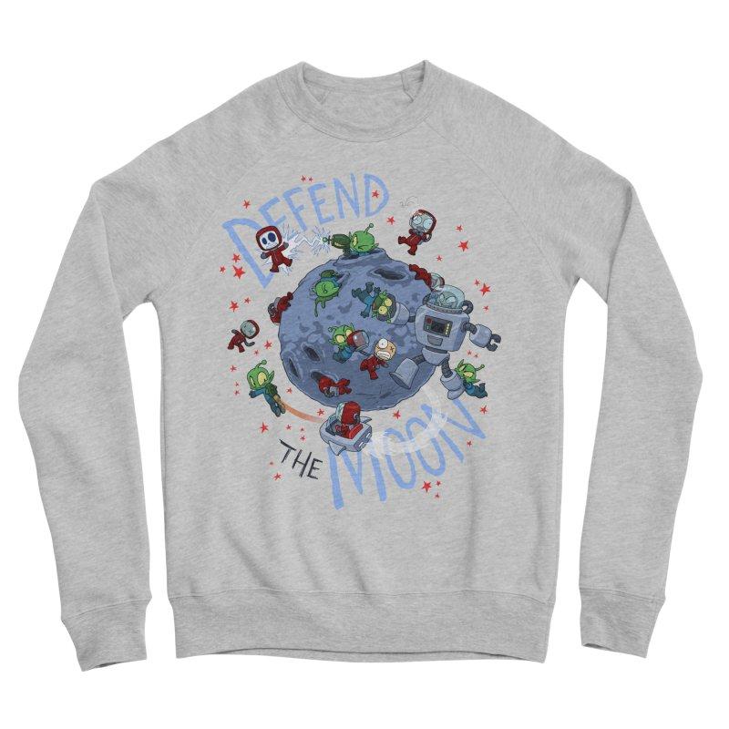 Moon Battle Women's Sponge Fleece Sweatshirt by Dooomcat