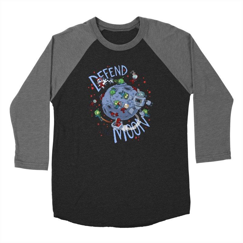Moon Battle Women's Baseball Triblend Longsleeve T-Shirt by Dooomcat