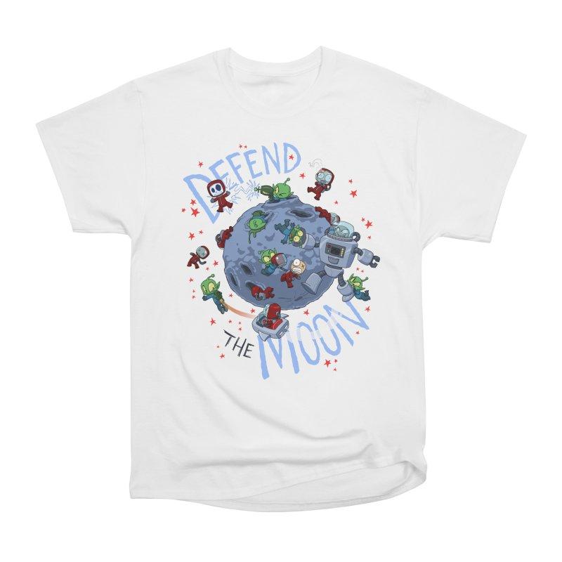 Moon Battle Women's T-Shirt by Dooomcat