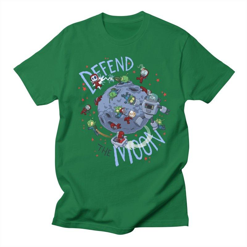 Moon Battle Women's Regular Unisex T-Shirt by Dooomcat