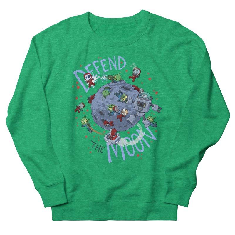 Moon Battle Women's Sweatshirt by Dooomcat