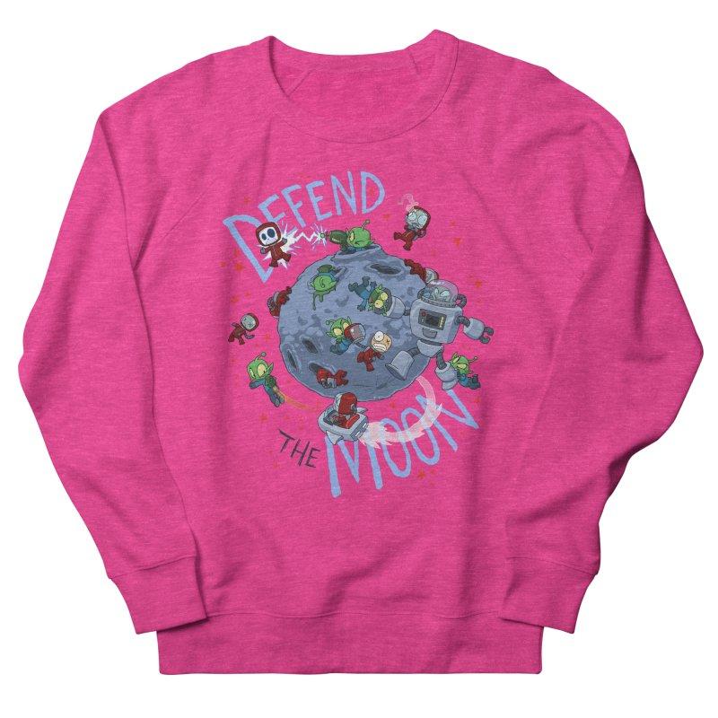 Moon Battle Men's French Terry Sweatshirt by Dooomcat