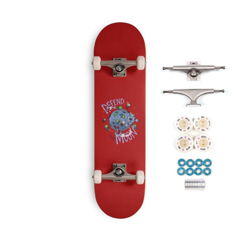 Moon Battle Accessories Complete - Premium Skateboard by Dooomcat