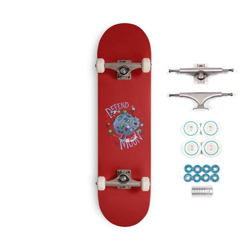 Moon Battle Accessories Complete - Basic Skateboard by Dooomcat